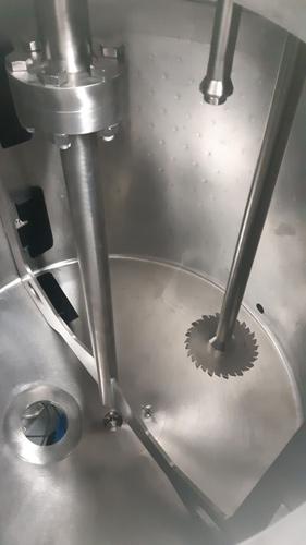 Equipo para la fabricación de gel hidroalcohólico